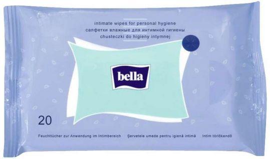 Белла салфетки влажные для интимной гигиены 20 шт., фото №1