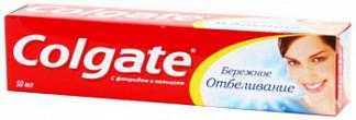 Колгейт бережное отбеливание зубная паста 50мл
