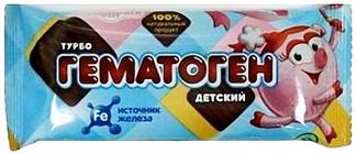Гематоген турбо смешарики нюша 35г фарм-про