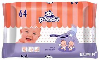 Белла панда салфетки влажные с витамином е и алантоином 64 шт.
