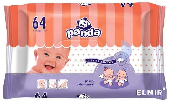Белла панда салфетки влажные с витамином е и алантоином 64 шт., фото №1