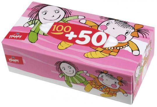 Белла беби хеппи платочки универсальные 2-слойные 150 шт., фото №1