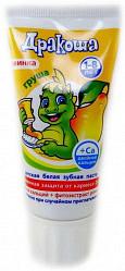 Дракоша зубная паста для детей груша 60г