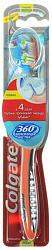 Колгейт 360 зубная щетка межзубная чистка средняя