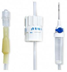 Вогт система инфузионная для переливания растворов с металлической иглой 21g 0,8х40мм 1 шт.