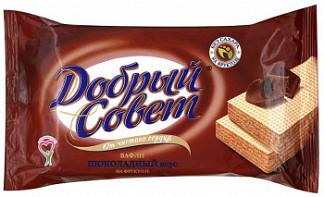 Вафли добрый совет шоколадные на фркутозе 73г