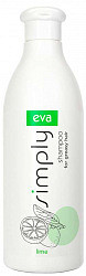 Ева симпли шампунь для жирных волос с экстрактом лайма 500мл