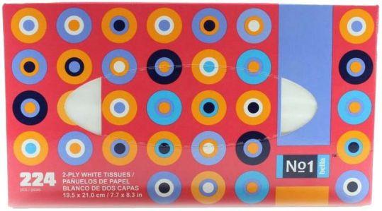 Белла n1 платочки универсальные двухслойные n224, фото №1