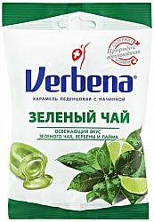 Вербена леденцовая карамель с начинкой зеленый чай 60г