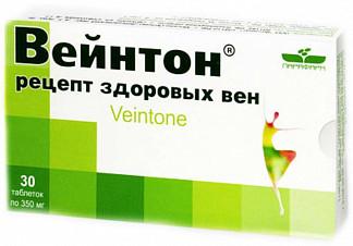 Вейнтон рецепт здоровых вен таблетки 30 шт.