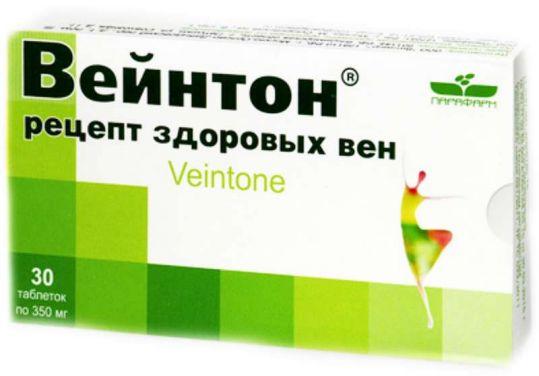 Вейнтон рецепт здоровых вен таблетки 30 шт., фото №1
