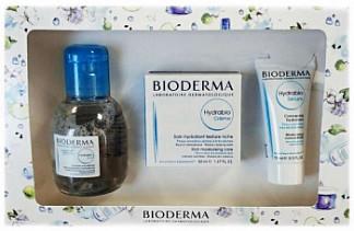 Биодерма гидрабио набор (крем 50мл+вода мицеллярная 100мл+сыворотка 15мл)