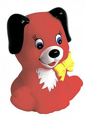 Пома мой первый друг игрушка с пищалкой щенок (3119) 1 шт.