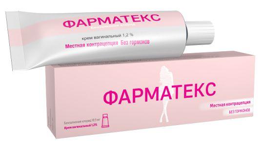 Фарматекс 1,2% 72г крем вагинальный, фото №1