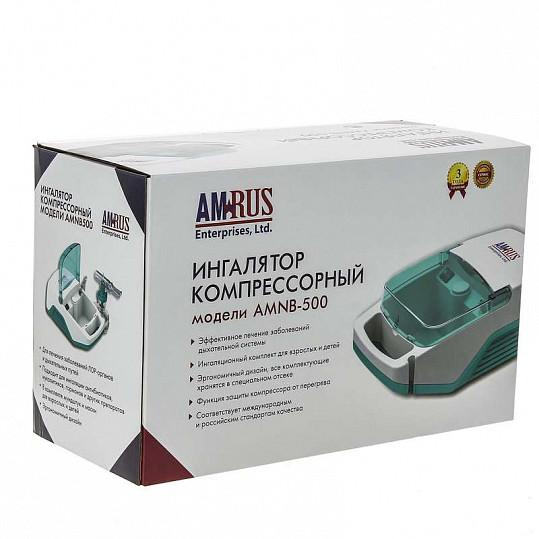 Амрус ингалятор компрессорный amnb-500 базовый, фото №5