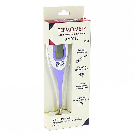Амрус термометр цифровой amdt13, фото №3