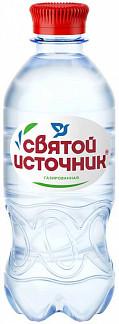 Святой источник вода питьевая газ пэт 0,33л