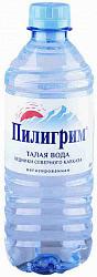 Вода минеральная пилигрим 0,5л без газа пэт