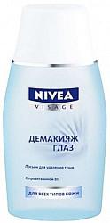 Нивея визаж лосьон для снятия макияжа с глаз (81110) 125мл