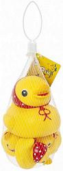 Курносики игрушка для ванны семейка уточки 25073