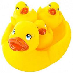 Курносики игрушка для ванны уточка с утятами 25072