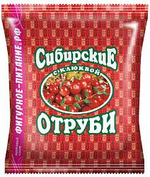 Отруби сибирские с клюквой 200г