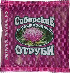 Отруби сибирские овсяные с расторопшей 200г
