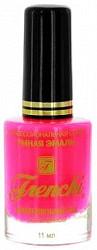 Френчи лак-укрепитель для ногтей тон-52 неон розовый 11мл