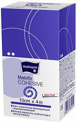 Матопат матофикс бинт эластичный когезивный 4мх10см 1 шт.