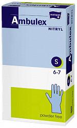 Матопат амбулекс нитрил перчатки смотровые нестерильные неопудренные размер s 100 шт.