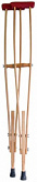Костыли локтевые деревянные для взрослых аверсус арт.743