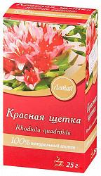 Красная щетка корневища и корни чайный напиток 25г