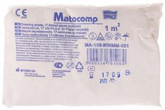 Матопат матокомп марля стерильная перевязочная 17нитей 1мх1м 1 шт.