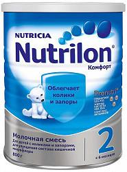 Нутриция нутрилон комфорт 2 смесь молочная 800г