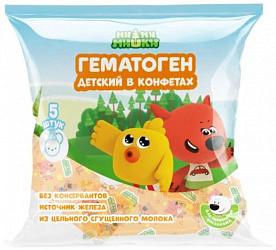 Ми-ми-мишки гематоген детский в конфетах сливочный 75г 5 шт.