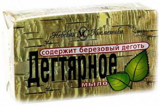 Невская косметика мыло дегтярное 4х100г