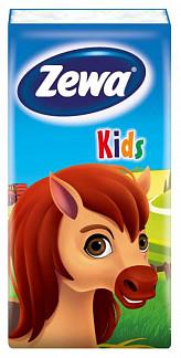 Зева кидс платки носовые детские 10шт 1 шт.