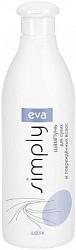 Ева симпли шампунь для сухих/поврежденных волос с шелком 500мл