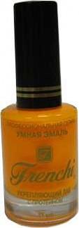 Френчи лак-укрепитель для ногтей тон-300 апельсиновый рай 11мл