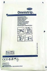 Хартманн омнистрип полоски стерильные пластырные на операционные швы 25х127мм 4 шт.