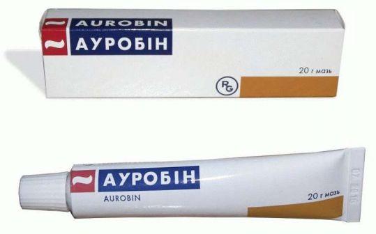 Ауробин 20г мазь, фото №1