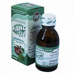 Эдас-111 25мл капли гомеопатические (пассифлора)
