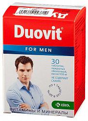 Дуовит драже для мужчин 30 шт.