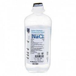 Натрия хлорид 0,9% 500мл 10 шт. раствор для инфузий