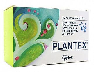 Плантекс 5г 30 шт. гранулы для приготовления раствора для детей