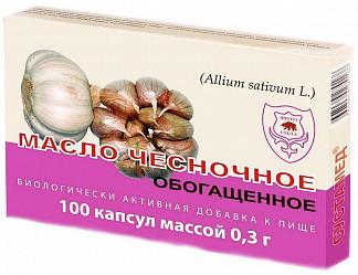 Сустамед масло чесночное обогащенное капсулы 100 шт.