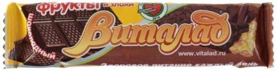 Мюсли батончик виталад шоколадн 40 г., фото №1