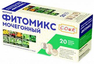 Фитомикс фиточай мочегонный 1,5г 20 шт. фильтр-пакет
