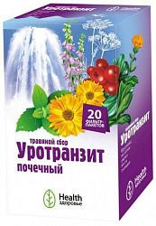 Уротранзит сбор травяной почечный 20 шт. фильтр-пакет здоровье