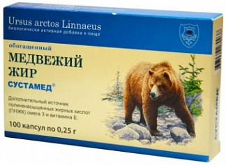 Сустамед медвежий жир 100мл